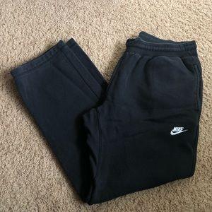 Nike Black & White Sweatpants
